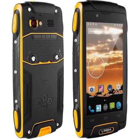 Защищенный телефон SIGMA Х-treme PQ30 (3700mAh)