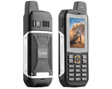 Защищенный телефон SIGMA X-treme 3SIM black