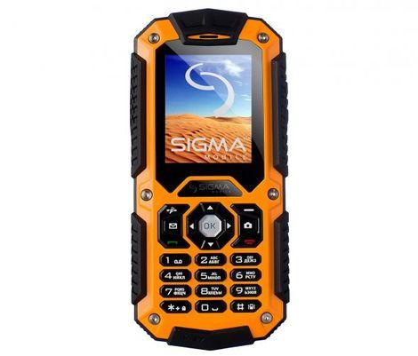 Защищенный телефон SIGMA X-treme II67 Boat orange