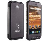 Защищенный телефон SIGMA X-treme PQ27 black NEW