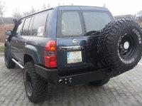 Крепление запасного колеса для Nissan Patrol GU4 (2005-2015)